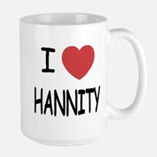 I heart hannity Large Mug
