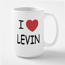 I heart levin Large Mug