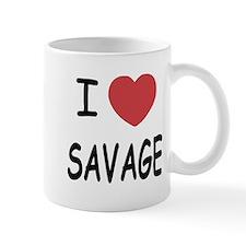 I heart savage Mug