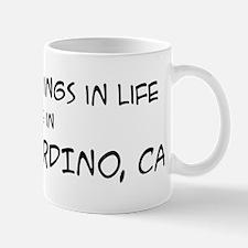 Best Things in Life: San Bern Mug