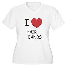 I heart hair bands T-Shirt