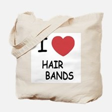 I heart hair bands Tote Bag