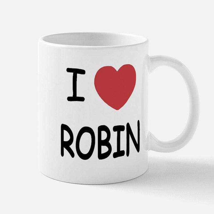 I heart robin Mug