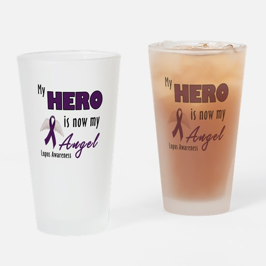 My Hero is now my Angel - Lup Pint Glass