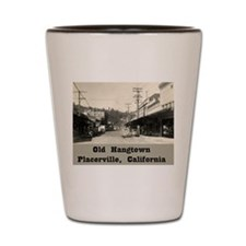 Old Hangtown Shot Glass