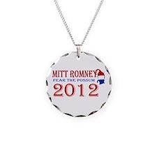 Mitt Romney 2012 Necklace Circle Charm