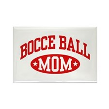 Bocce Ball Mom Rectangle Magnet