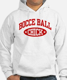 Bocce Ball Chick Hoodie