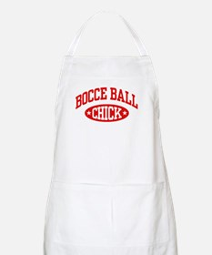 Bocce Ball Chick Apron