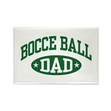 Bocce Ball Dad Rectangle Magnet