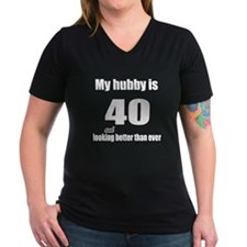 My hubby is 40 Shirt