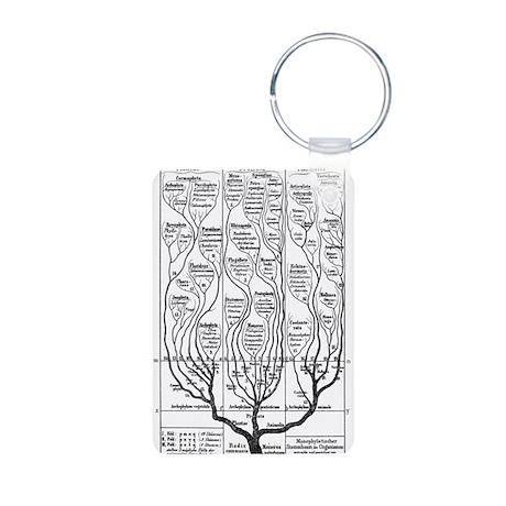 Tree of Life Aluminum Photo Keychain