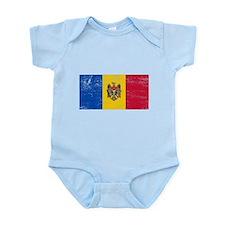 Moldova Flag Infant Bodysuit