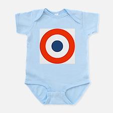 Funny Bullseye Infant Bodysuit