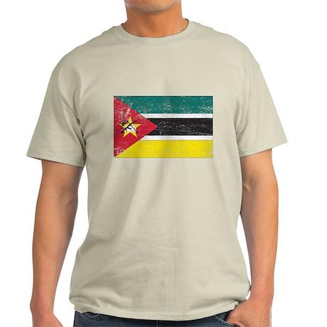 Mozambique Flag Light T-Shirt