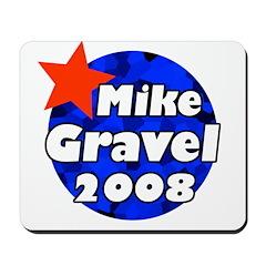 Mike Gravel for President Mousepad