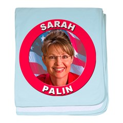 Sarah Palin baby blanket
