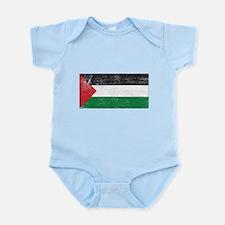 Palestine Flag Infant Bodysuit