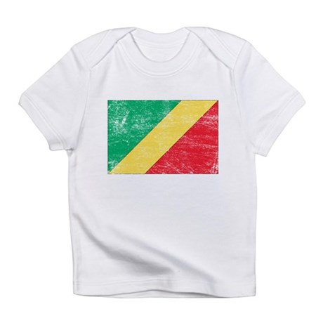 Republic of the Congo Flag Infant T-Shirt