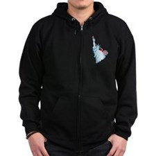 Consumption Zipped Hoodie
