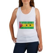 Sao Tome & Principe Flag Women's Tank Top