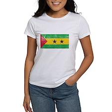 Sao Tome & Principe Flag Tee