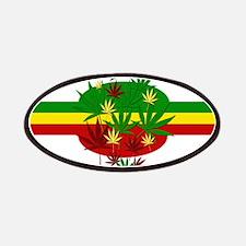 Rastafarian Lion Patches