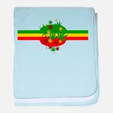 Rastafarian Lion baby blanket