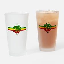 Rastafarian Lion Pint Glass