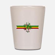 Rastafarian Lion Shot Glass