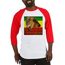Rastafarian Lion Baseball Jersey