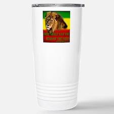 Rastafarian Lion Travel Mug