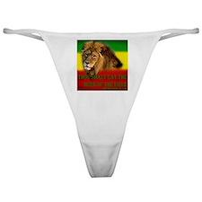 Rastafarian Lion Classic Thong