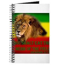 Rastafarian Lion Journal