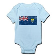 St Helena Flag Infant Bodysuit