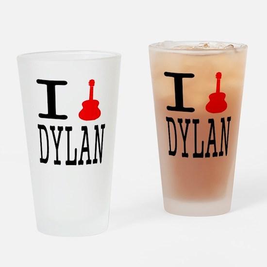 Listen To Dylan Pint Glass