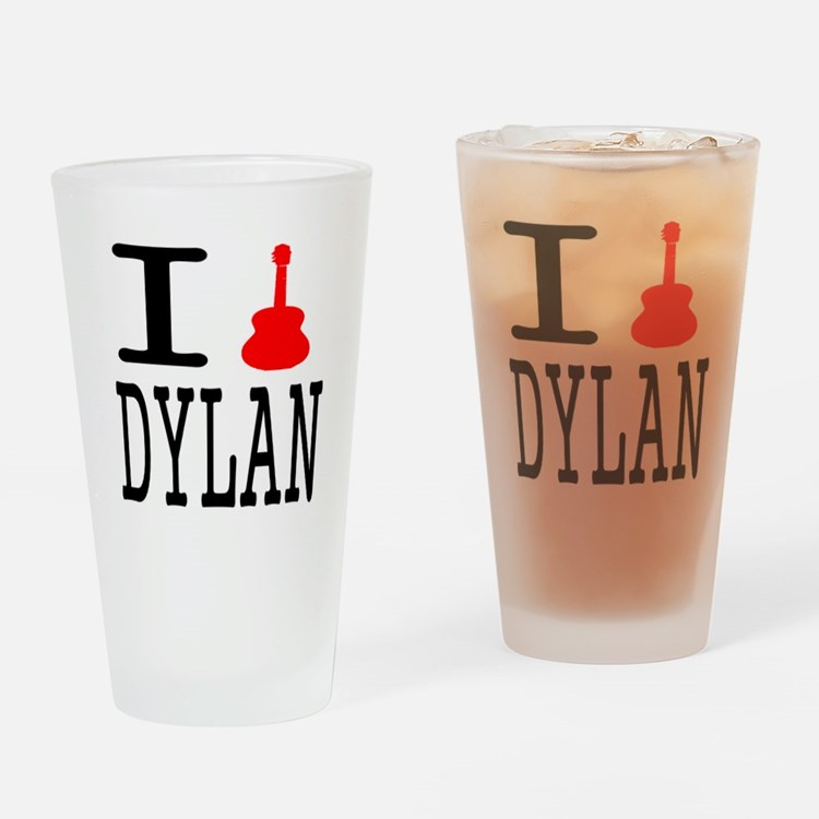 Listen To Dylan Pint Glass