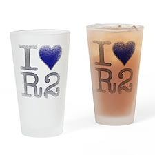 I Love R2 (Vintage) Pint Glass