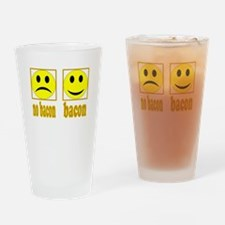 Hoo-Ray For Bacon Pint Glass