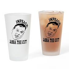 Impeach Christie Pint Glass