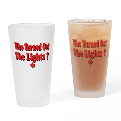 Afraid of the Dark? Pint Glass