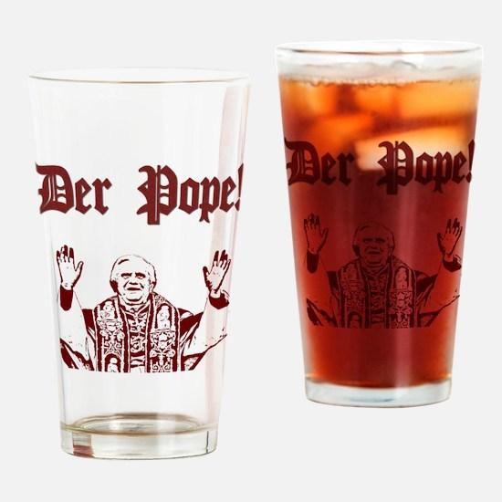 Der Pope! Pint Glass