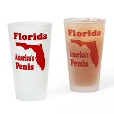Florida: America's Penis Pint Glass
