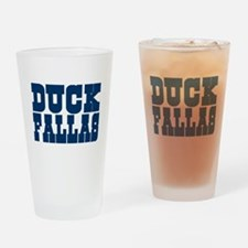 Duck Fallas Pint Glass