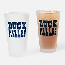 Duck Fallas Pint Glass