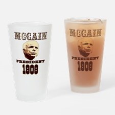 McCAIN (19) 08!!!! Pint Glass