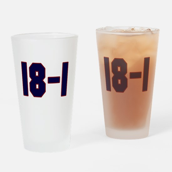 18 and 1 Pint Glass