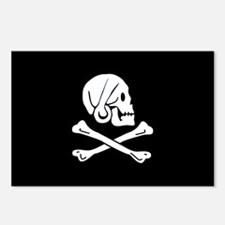 Henry Every's Pirate Flag Postcards (Package of 8)