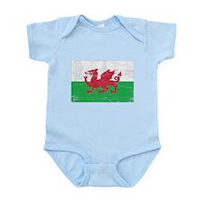 Wales Flag Infant Bodysuit