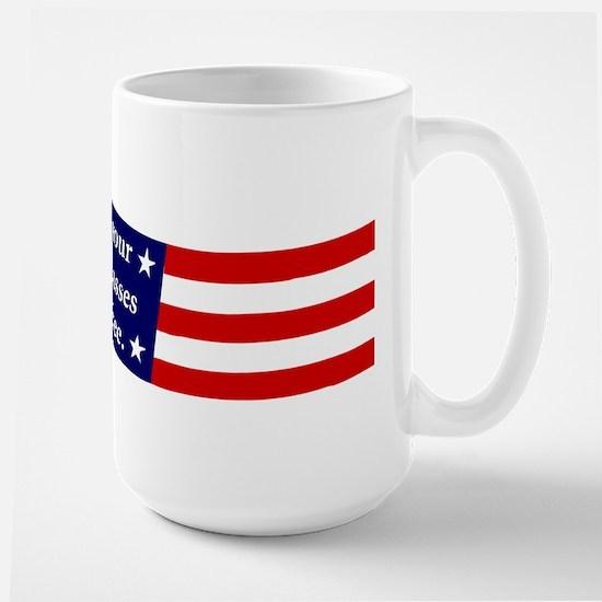 Give me your tired... Large Mug